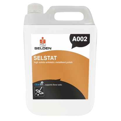 Picture of A002 SELSTAT HIGH SOLIDS ANTISTATIC METALLISED POLISH 5 LITRE