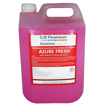 Picture of CJS Paramount Azure Fresh Mild Descaler 2 x 5 Litre ** 2 Cases MUST be purchased **