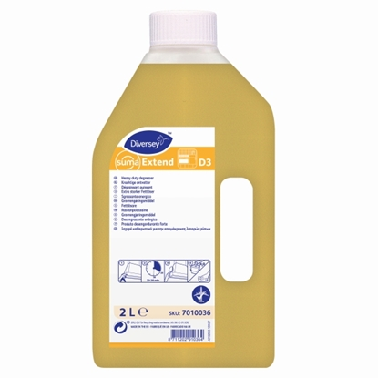 Picture of 7010036 Diversey Suma Extend D3 Liquid Degreaser 2 Litre