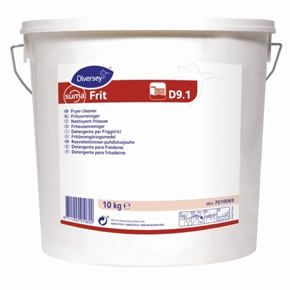 Picture of 7010069 Diversey Suma Frit D9.1 Powder for Fryer Cleaning 10kg