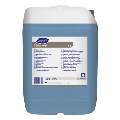 Picture of 7010131 Diversey Suma Rinse Aid A5 for All Water Conditions 20 Litre