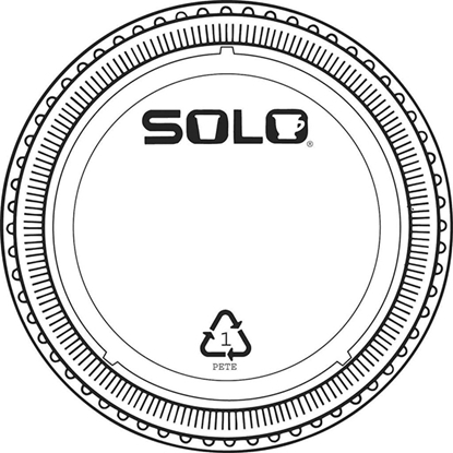 Picture of 4OZ CLEAR SOLO POT LIDS ONLY (2500)