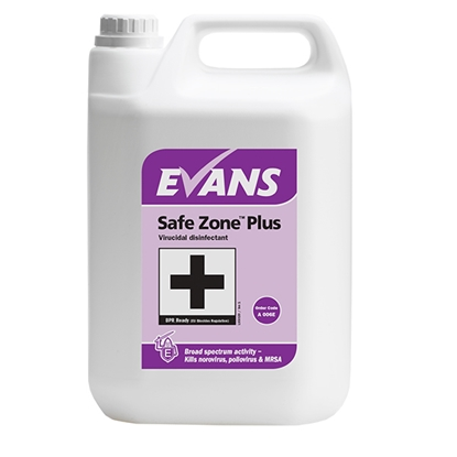 Picture of EVANS SAFE ZONE PLUS [C/S 2 x 5LTR}
