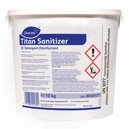 Picture of 6040477 Titan Sanitiser Powder 10kg