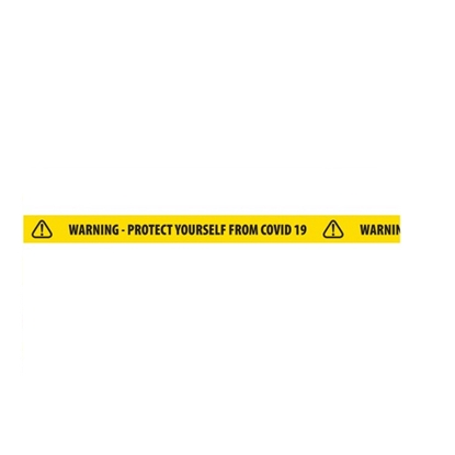 Picture of Warning Protect Yourself from COVID-19- Floor Tape