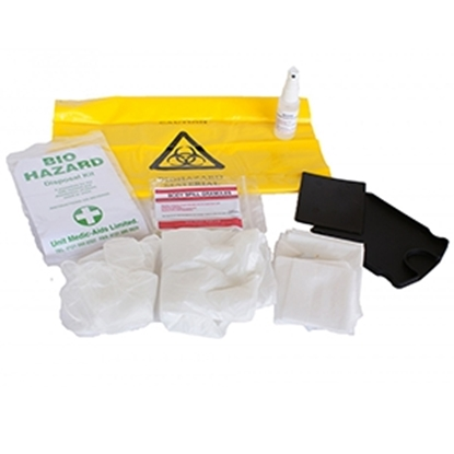 Picture of Bio Hazard Disposal Kit in Plastic Bag