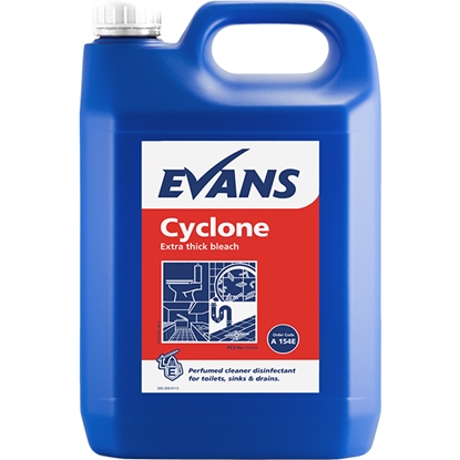 Picture of EVANS CYCLONE THICK BLEACH ( 2 x 5LTR)