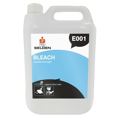 Picture of E001 Selden Bleach 5 Litre