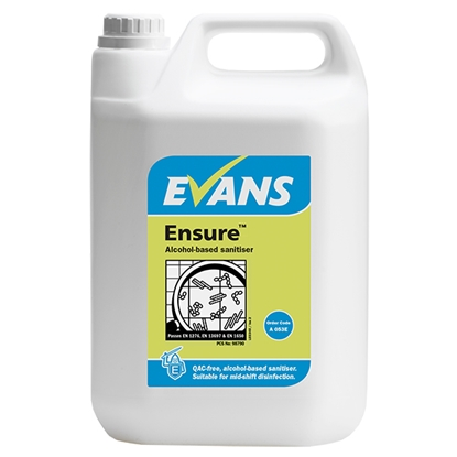 Picture of Evans Ensure Alcohol Sanitiser 5 Litre