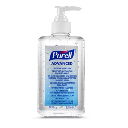 Picture of 9263 -12 PURELL HYGIENIC HAND RUB PUMP 300ML
