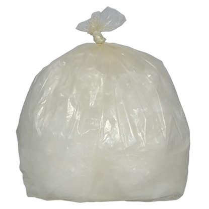 Picture of GR0105 MD CLEAR REFUSE SACK [200] 457 X 737 X 965