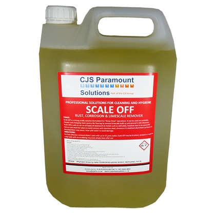 Picture of CJS Paramount Scale Off Deep Clean Descaler 2 x 5 Litre ** 2 Cases MUST be purchased **