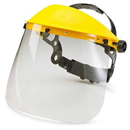 Picture of FACE SHIELD COMPLETE WITH FOAM (EACH)