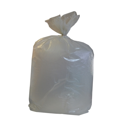 Picture of HEAVY DUTY CLEAR REFUSE SACKS 15KG- CASE OF 200