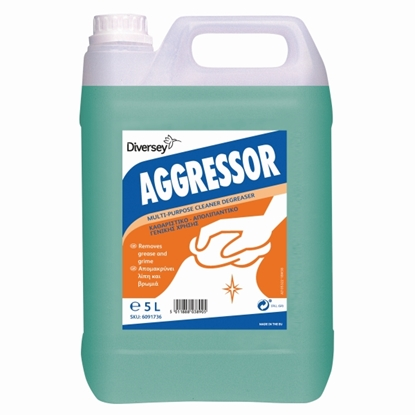 Picture of 6091736 DI Aggressor Multipurpose Hard Surface Cleaner 5 Litre