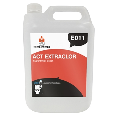 Picture of E011 Selden Act Extraclor Fragrant Thick Bleach 5 Litre