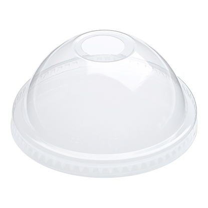Picture of 16oz CLEAR DOMED LIDS [ c/s 1000 ] PET