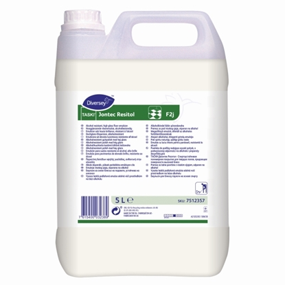 Picture of 7512357 Taski Jontec Resitol Alcohol Resistant Floor Polish 5 Litre