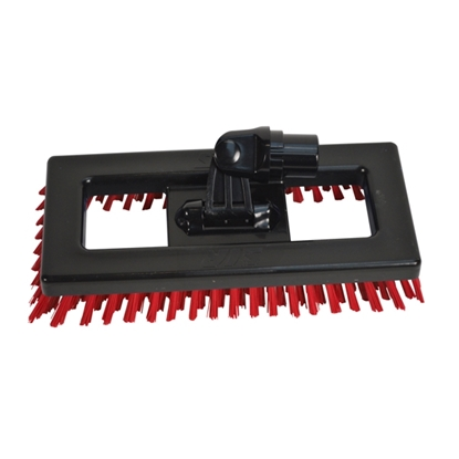 Picture of 920034 RED/BLACK DECK SCRUBB WITH SWIVEL NECK
