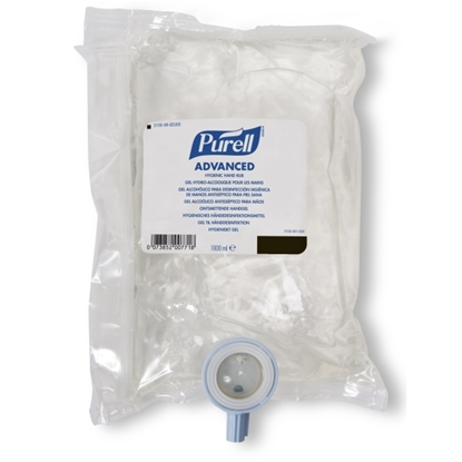 Picture of 2156 -08 PURELL NXT HYGENIC HAND RUB REFILL 8x1L