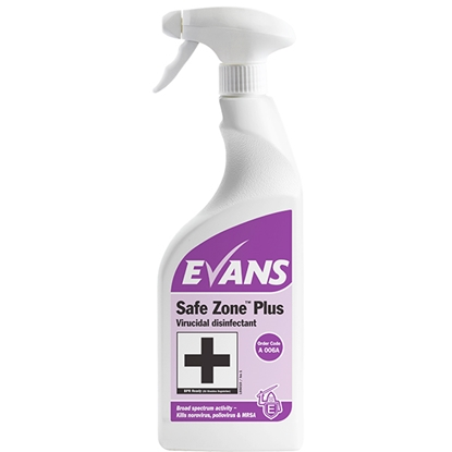 Picture of EVANS SAFE ZONE PLUS DISINFECTANT (6 x 750ml)