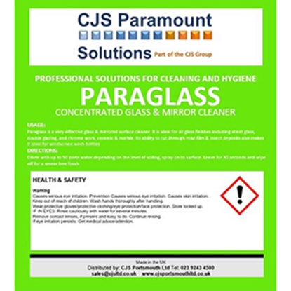Picture of CJS Paramount Paraglass Label (Bottle & Trigger Spray Sold Separately)