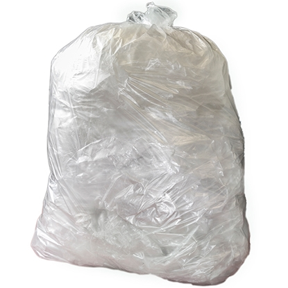 Picture of EXTRA HEAVY DUTY CLEAR COMPACTOR SACK- CASE OF 50
