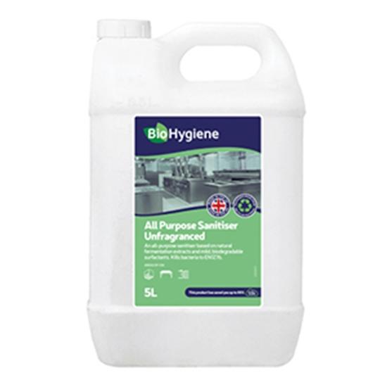 Picture of BioHygiene Surface Sanitiser Unperfumed (2x5LTR)