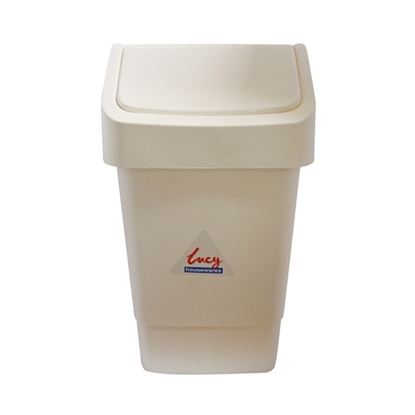 Picture of 9 LITRE SWING TOP BIN (WHITE)- SOLD EACH