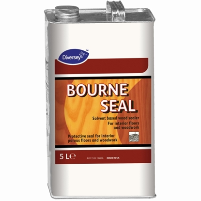 Picture of BOURNE SEAL NATURAL WOOD FLOOR SEALER 5 LITRE
