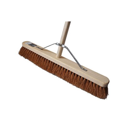 Picture of HILLBRUSH H17/5FHS 610MM TRADE SOFT PLATFORM BROOM FITTED WITH HANDLE