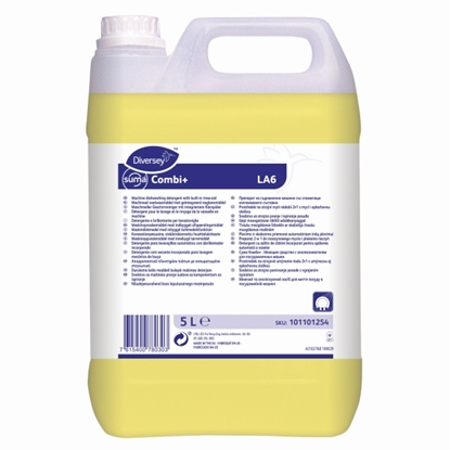 Picture of Diversey Suma Combi+ LA6 2 in 1 Detergent & Rinse Aid 5 Litre