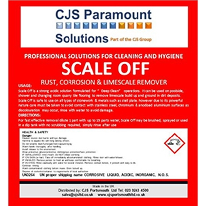 Picture of CJS Paramount Scale Off Label (Bottle & Cap Sold Separately)