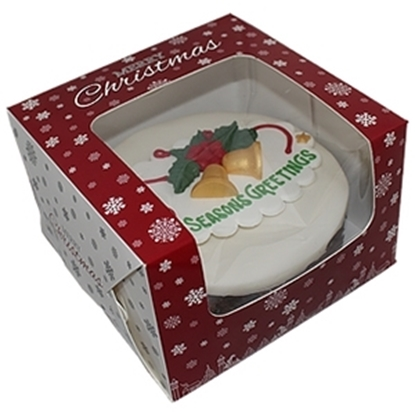 Picture of Christmas Window Design Boxes 20.3cmx12.7cm