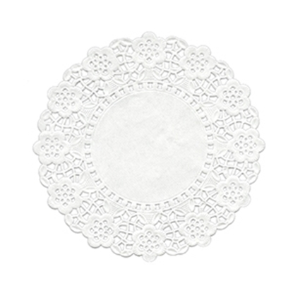 Picture of Swantex RD-65 White Round Doyley 6.5""