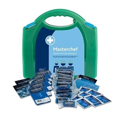 Picture of HSE 10 PERSON PREMIUM ALL BLUE- CATERING/KITCHEN FIRST AID KIT