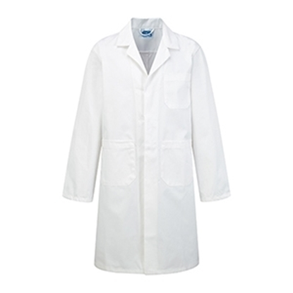 Picture of Childs Visitor/ Lab/ Warehouse Coat- White