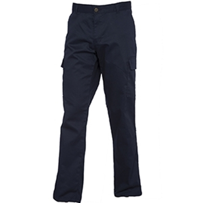 Picture of UC905 Ladies Cargo Trousers Navy- Size 18 Regular