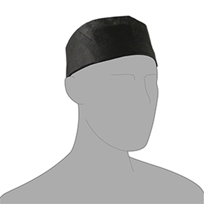 Picture of CHEFS SKULL CAP DISPOSABLE BLACK ( 250)