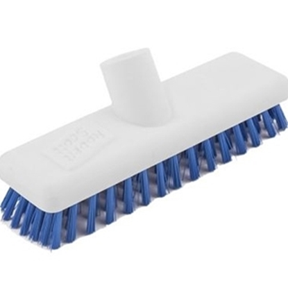"Picture of 22.9cm (9"") Blue Washable Deck Scrub"