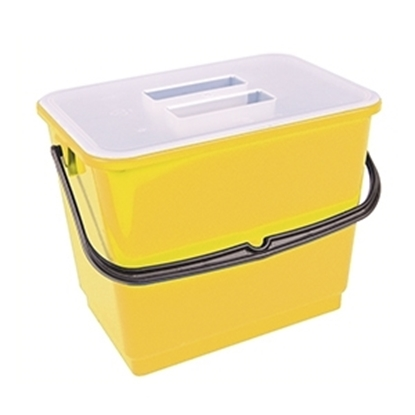 Picture of 4 Litre Bucket & Lid- Yellow