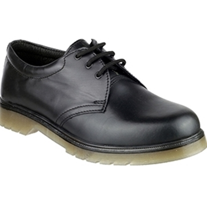 Picture of ALDERSHOT SIZE 4 AMBLERS BLACK NON SAFETY SHOE
