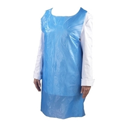 Picture of BLUE STANDARD APRONS 675X1011MM- CASE OF 100
