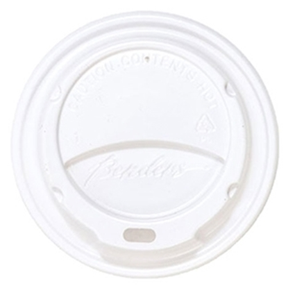 Picture of 16OZ MILANO WHITE DOMED LID (1000)