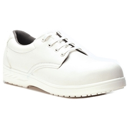 Picture of FW80 STEELITE LACED SAFETY SHOE WHITE UNISEX- SIZE 10