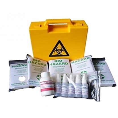 Picture of Bio Hazard Disposal Kit- 5 applications in box