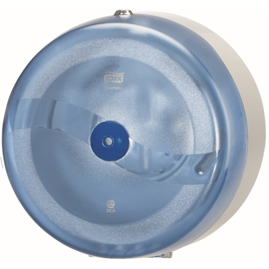 Picture of 472024 T8 Tork SmartOne Toilet Roll Dispenser- Blue