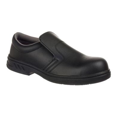 Picture of FW81 Steelite Black Slip-on Safety Shoe- Size 7