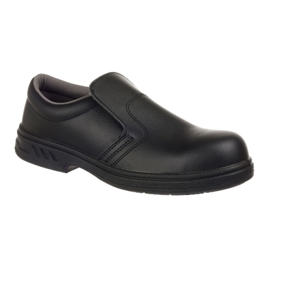 Picture of FW81 Steelite Black Slip-on Safety Shoe- Size 10