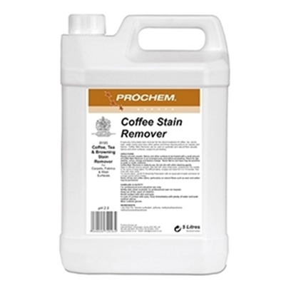 Picture of B195 PROCHEM COFFEE STAIN REMOVER 5 LITRE- SOLD EACH